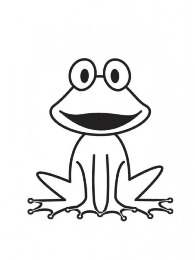 Frosch Ausmalbilder Zum Ausdrucken  Ausmalen Zum Ausdrucken Ausmalbilder Frosch Kostenlos