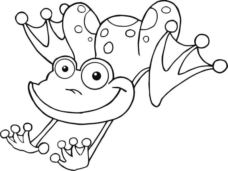 Frosch Ausmalbilder Zum Ausdrucken  KonaBeun zum ausdrucken ausmalbilder frosch