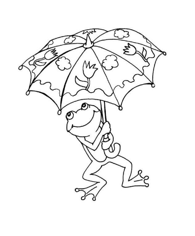 Frosch Ausmalbilder Zum Ausdrucken  Schöne Malvorlagen Ausmalbilder Frosch ausdrucken 1