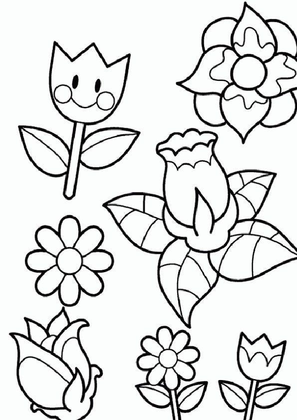 Frühling Malvorlagen  Ausmalbilder Frühling 28