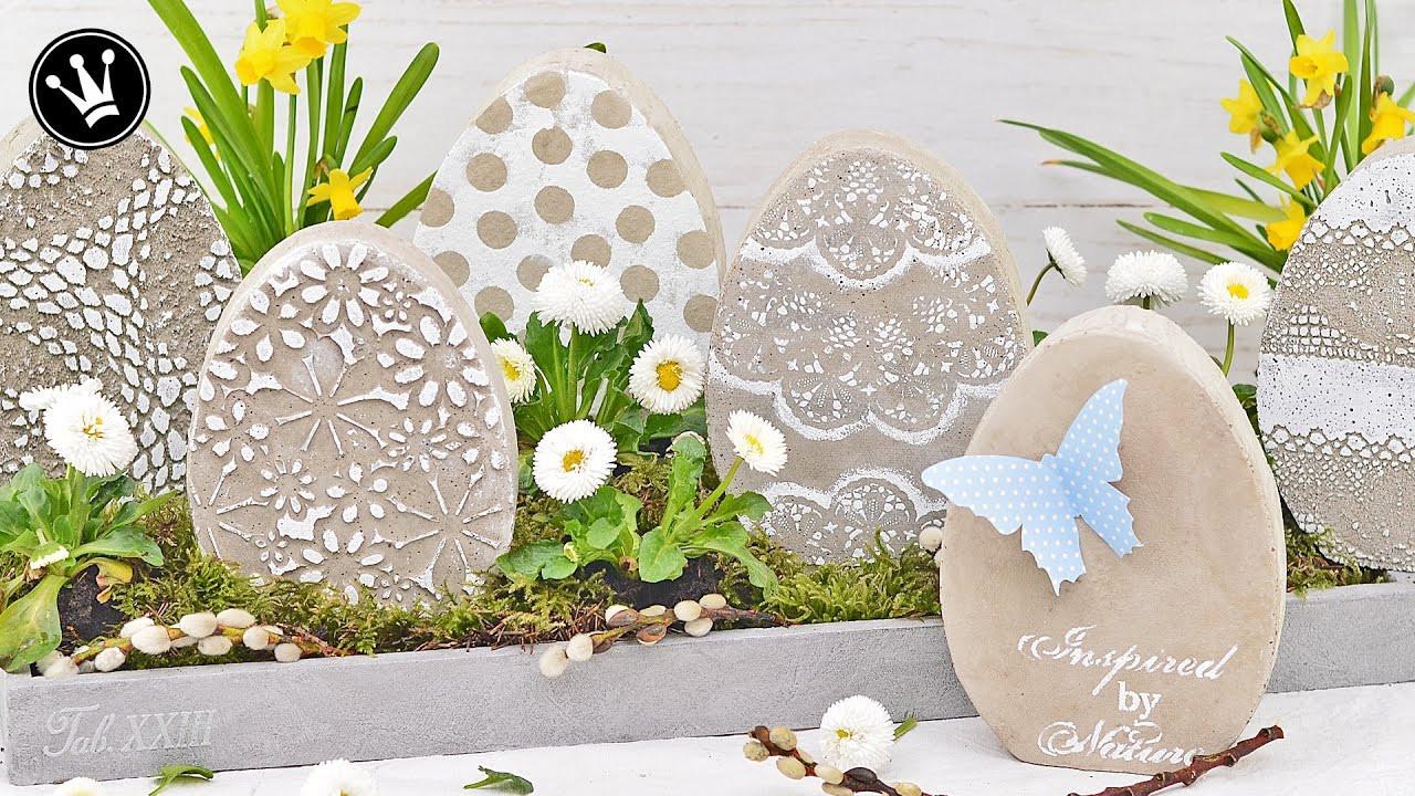 Frühlingsdeko Diy  DIY Osterdeko Frühlingsdeko selber machen