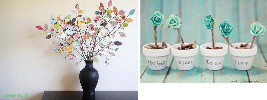 Frühlingsdeko Diy  DIY – Ideen für Frühlingsdeko