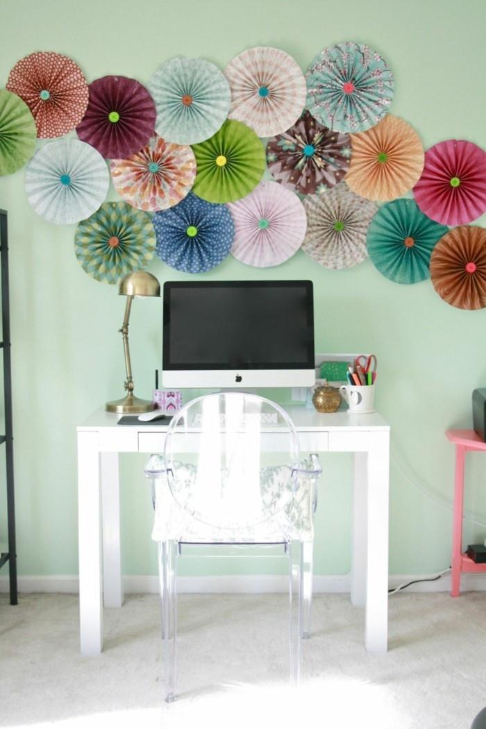 Frühlingsdeko Diy  Zimmer Deko DIY Frische Frühlingsdeko aus Papier basteln