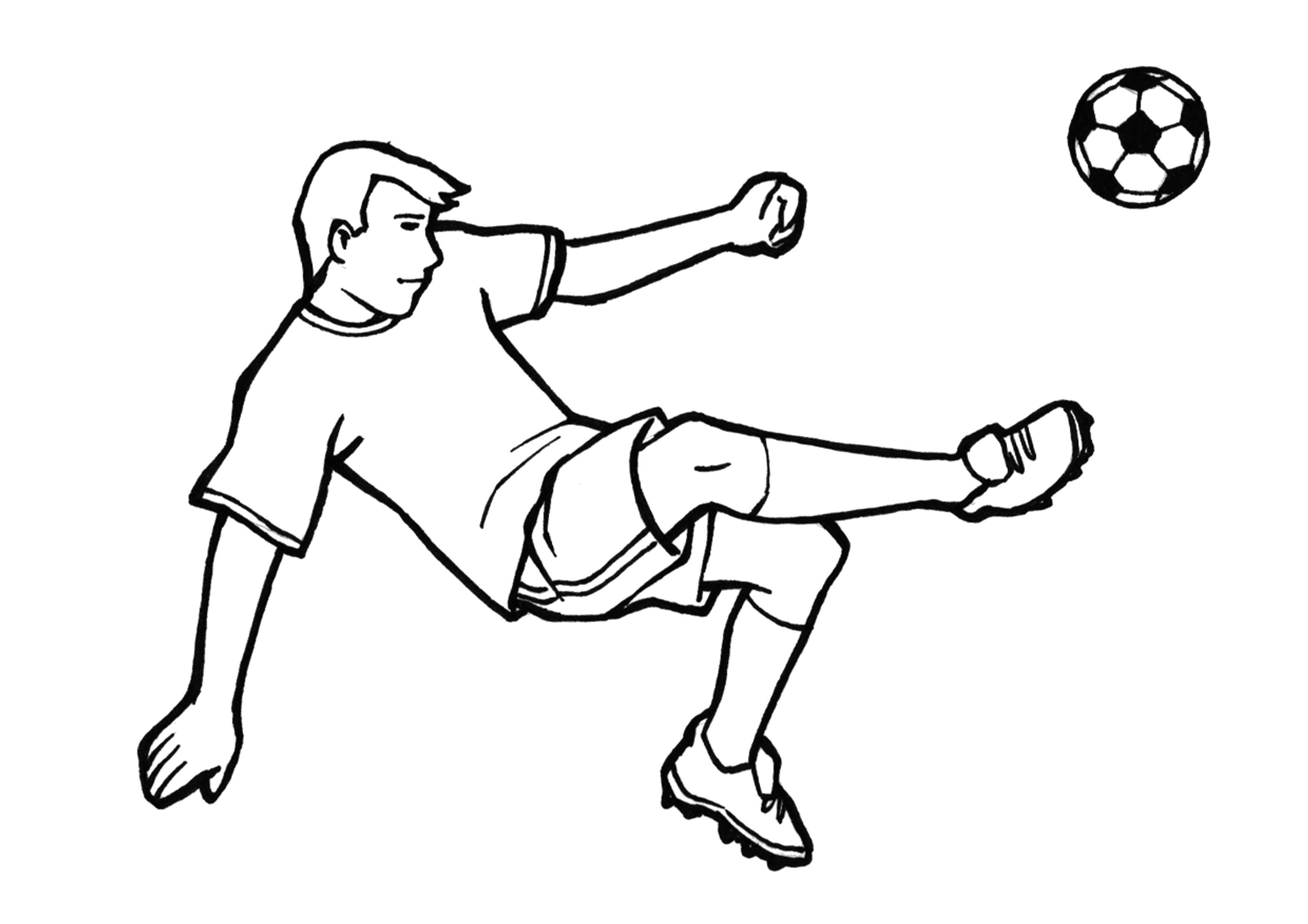 die besten ideen für fussball ausmalbilder - beste