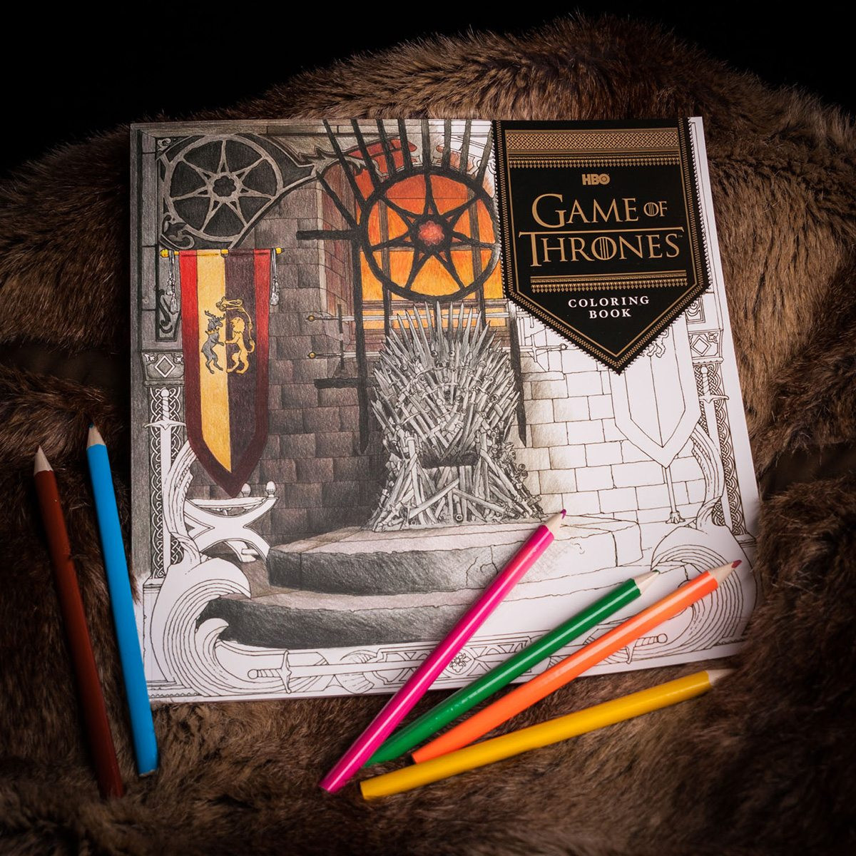 Game Of Thrones Geschenkideen  Game Thrones Malbuch GeschenkeGeek hier findest du