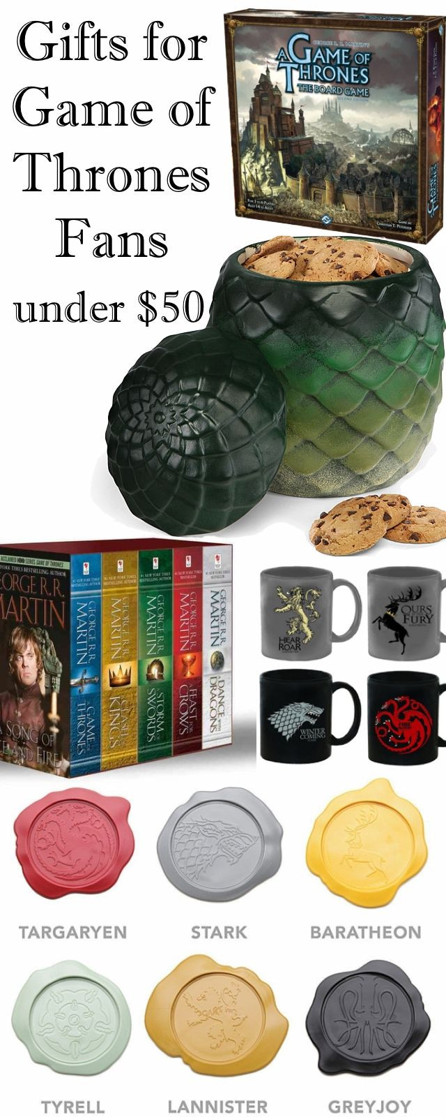 Game Of Thrones Geschenkideen  Game of Thrones Gifts I Love in 2018
