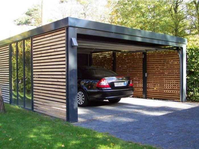 Garage Bauen  Ein Carport bauen und sich eine persönliche Garage sichern