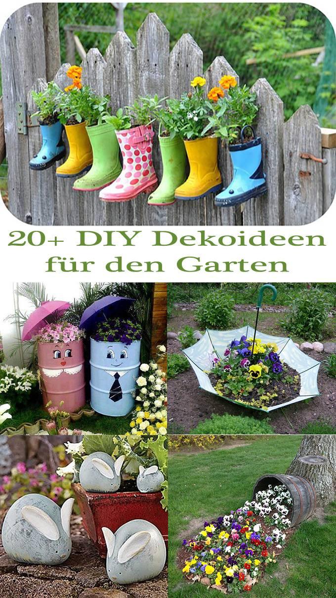 Garten Diy  20 DIY Dekoideen für den Garten – So einfach ist
