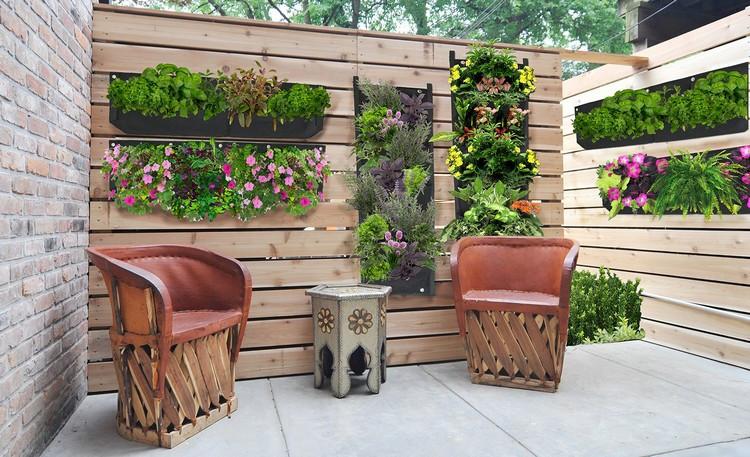 Garten Diy  DIY Ideen für den Garten Ein vertikaler Blumentopf