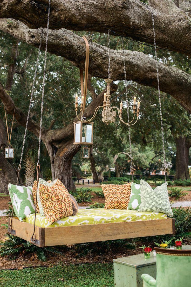 Garten Diy  Hängebett selber bauen 44 DIY Ideen für Bett aus Paletten