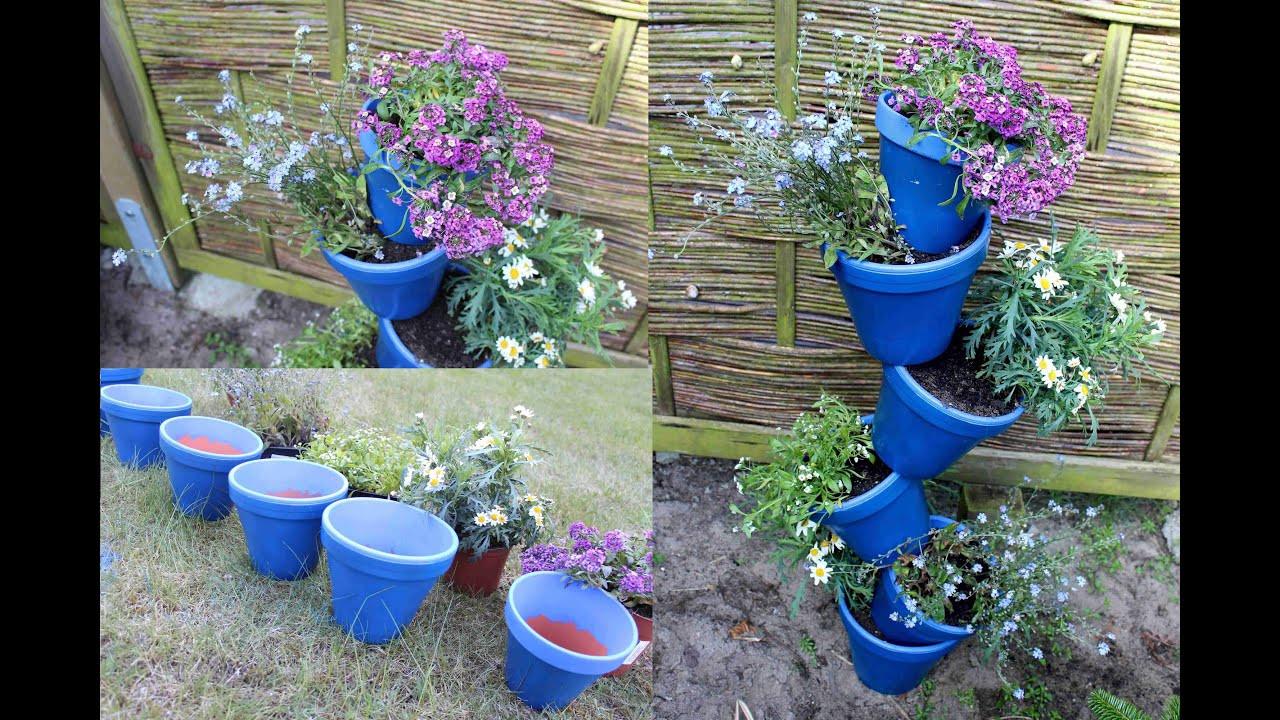 Garten Diy  DIY Deko für den Garten Balkon oder Wohnung