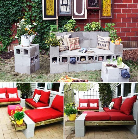 Garten Diy  Beton im Garten eine moderne Gartengestaltung fresHouse