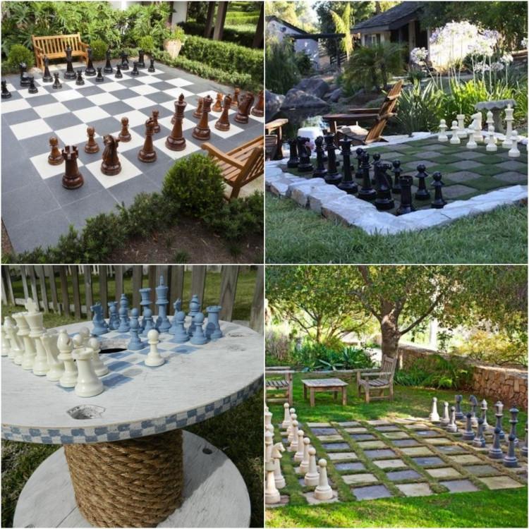 Garten Diy  DIY Spiele für draußen 23 lustige Ideen für den Garten