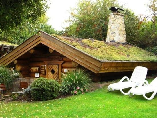 Garten Eden Dietzenbach  Maa Sauna mit holzbefeuertem Kamin Picture of Garden