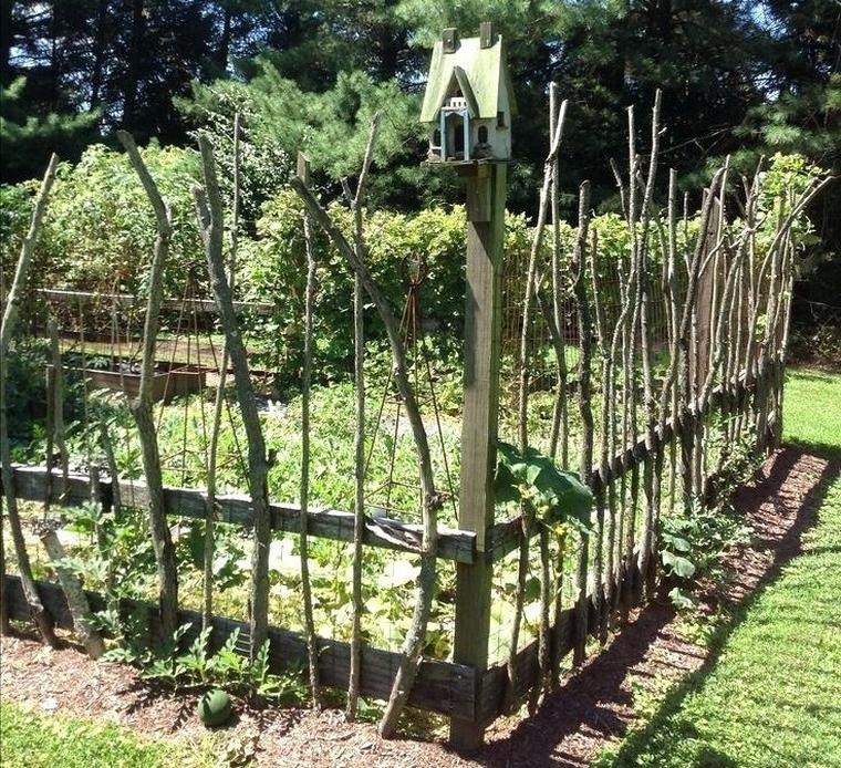 Gartenzaun Diy  Günstige DIY Gartenzaun in einigen Ideen nicht zu