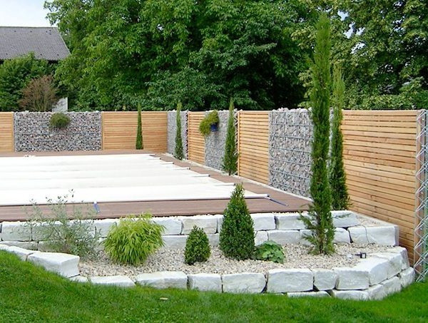 Gartenzaun Diy  Gartenzaun Holz Modern