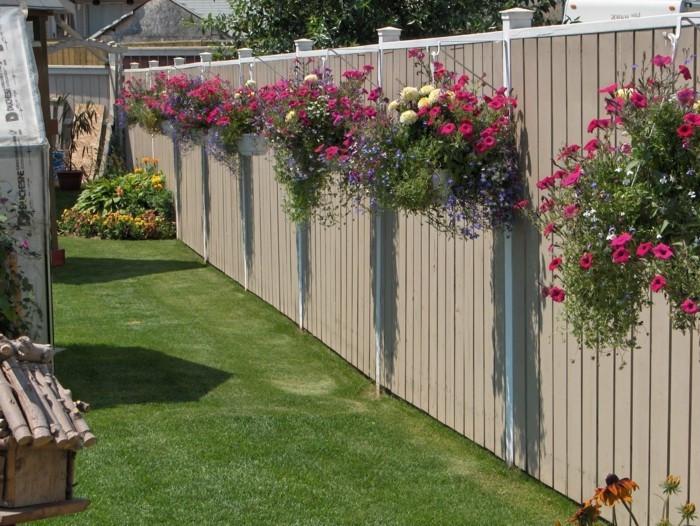 Gartenzaun Diy  Über 30 Deko Ideen für den Gartenzaun Freude bereiten