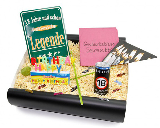 Geburtstag Geschenke Ideen  Geschenke zum 18 Geburtstag