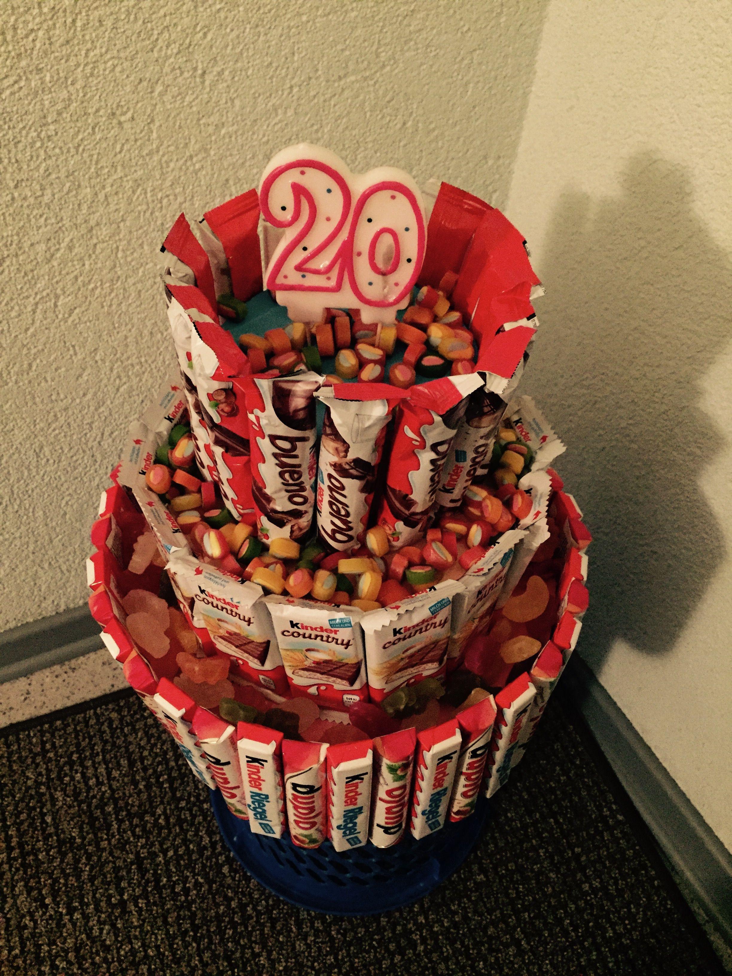 Geburtstag Geschenke Ideen  Geschenk zum 20 Geburtstag Kreativ
