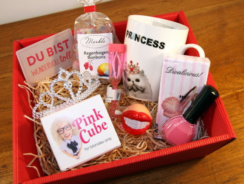 Geburtstag Geschenke Ideen  Lustige Geschenke Prinzessin Diva Tussi Pink Humor