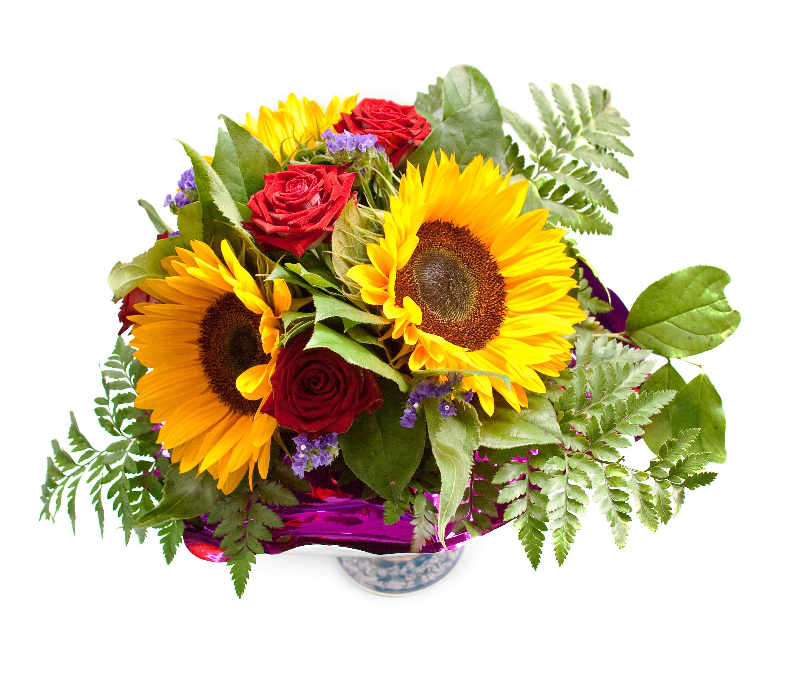 Geburtstagsbilder Blumenstrauss  Ergebnis für Ein kunterbunterr Blumenstrauß vor weißem
