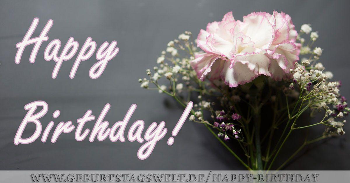 Geburtstagsbilder Blumenstrauss  Happy Birthday Bilder Tolle Bilder zum Gratulieren