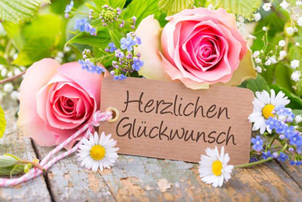 Geburtstagsbilder Blumenstrauss  Glückwünsche zum Geburtstag u v a m