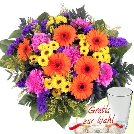 Geburtstagsbilder Blumenstrauss  Blumenstrauß Big Summer – Blumen online verschicken auf