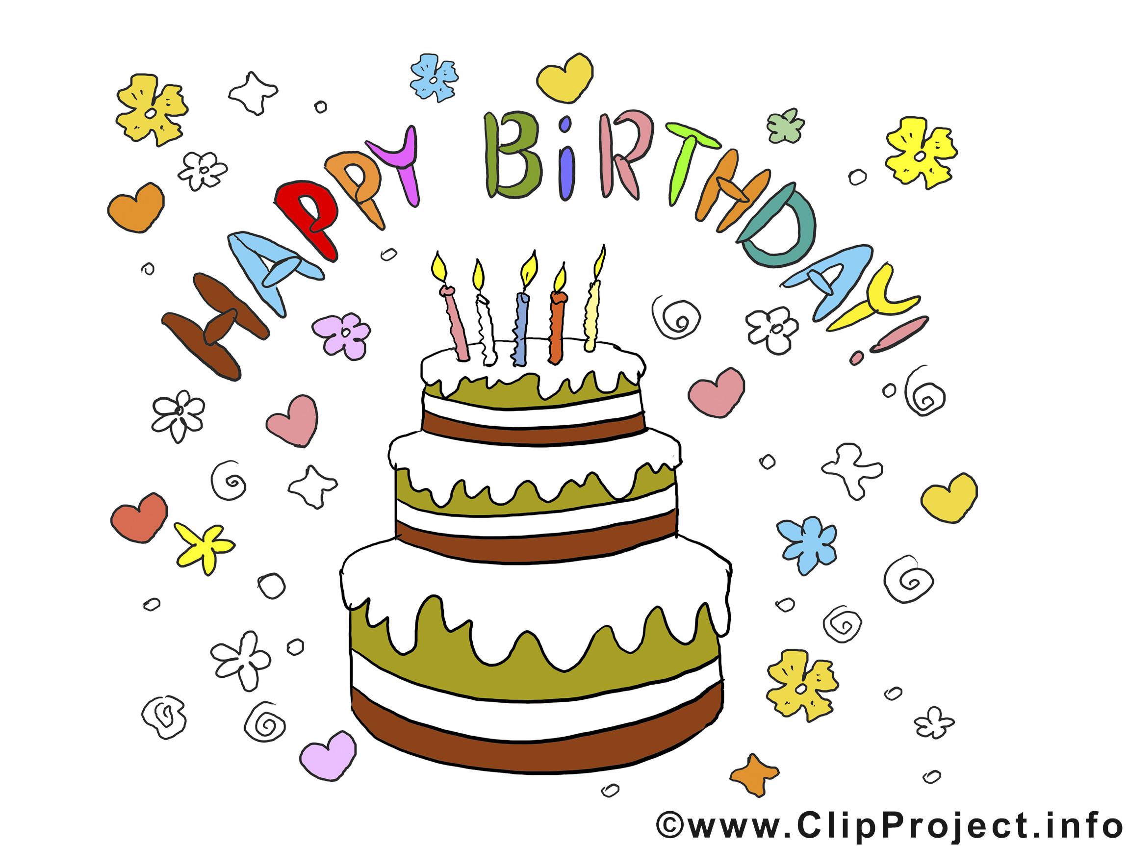 Geburtstagsbilder Facebook Kostenlos  Geburtstag Bilder Torte