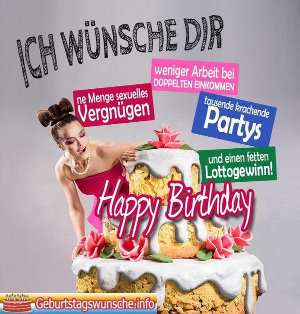 Geburtstagsbilder Lustig Frau  Lustige Geburtstagsbilder Witzige Bilder zum Geburtstag