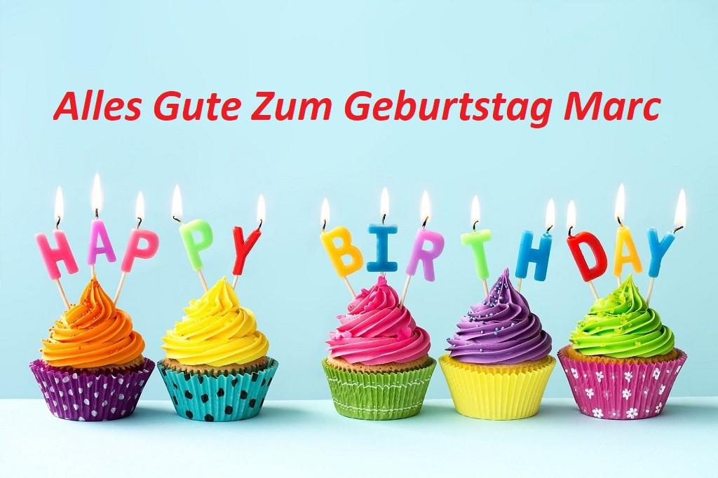 Geburtstagsbilder Mit Namen  Alles Gute Zum Geburtstag Marc bilder