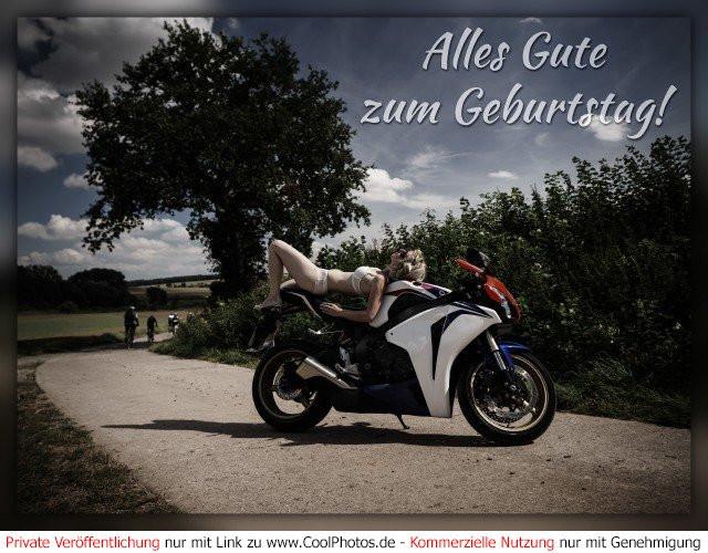 Geburtstagsbilder Motorrad  Geburtstag Motorrad