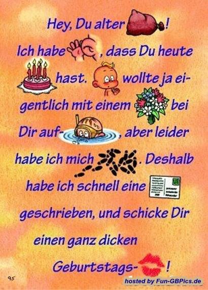 Geburtstagsbilder Whatsapp  Geburtstagsbilder Spruch lustig Bilder GB