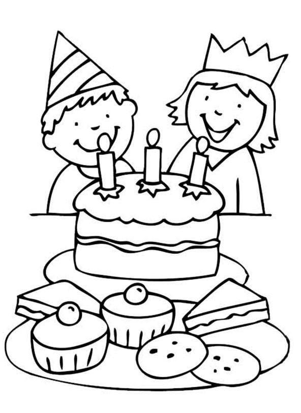 Geburtstagsbilder Zum Ausmalen  Geburtstag 6
