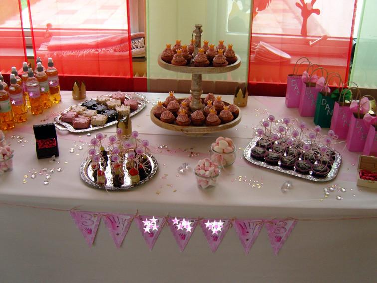 Geburtstagsfeier Ideen Für 12 Jährige  Prinzessinnen Kindergeburtstag Kuchenbuffet