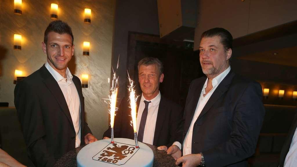 Geburtstagsfeier München  TSV 1860 München Weihnachts und Geburtstagsfeier