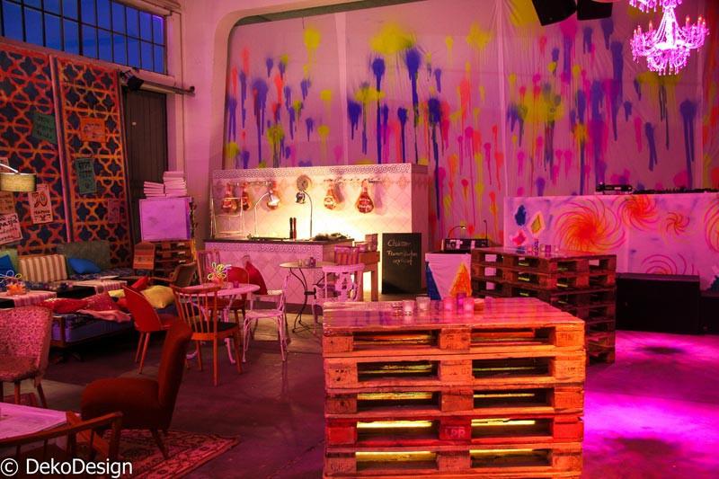 Geburtstagsfeier München  Geburtstagsfeier in München Deko Design Eventagentur