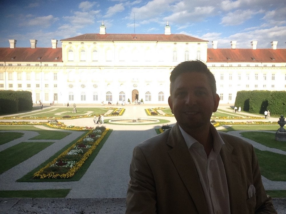 Geburtstagsfeier München  Zauberer TOMBECK auf Geburtstagsfeier in Münchener Residenz