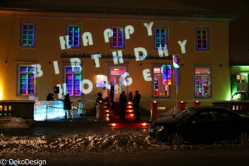 Geburtstagsfeier München  Mottoparty in München – Geburtstagsfeier – Deko Design