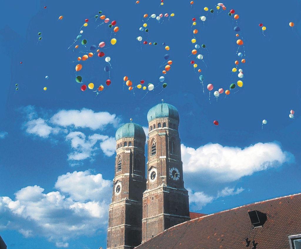 Geburtstagsfeier München  München Geburtstagsfeier München wird 852 München