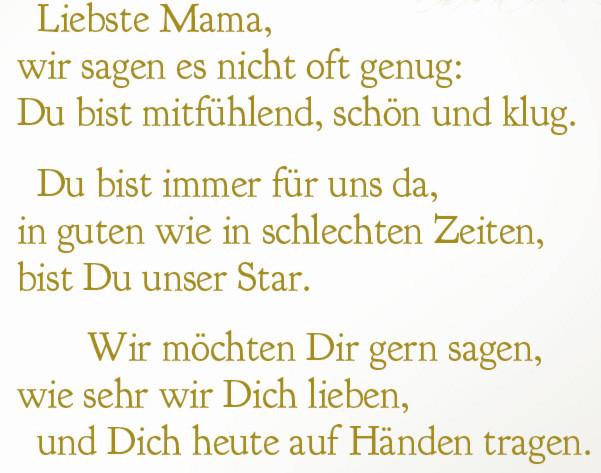 Geburtstagsgedichte Für Mama  Mark E Woodson Für Mama Ein Gedicht