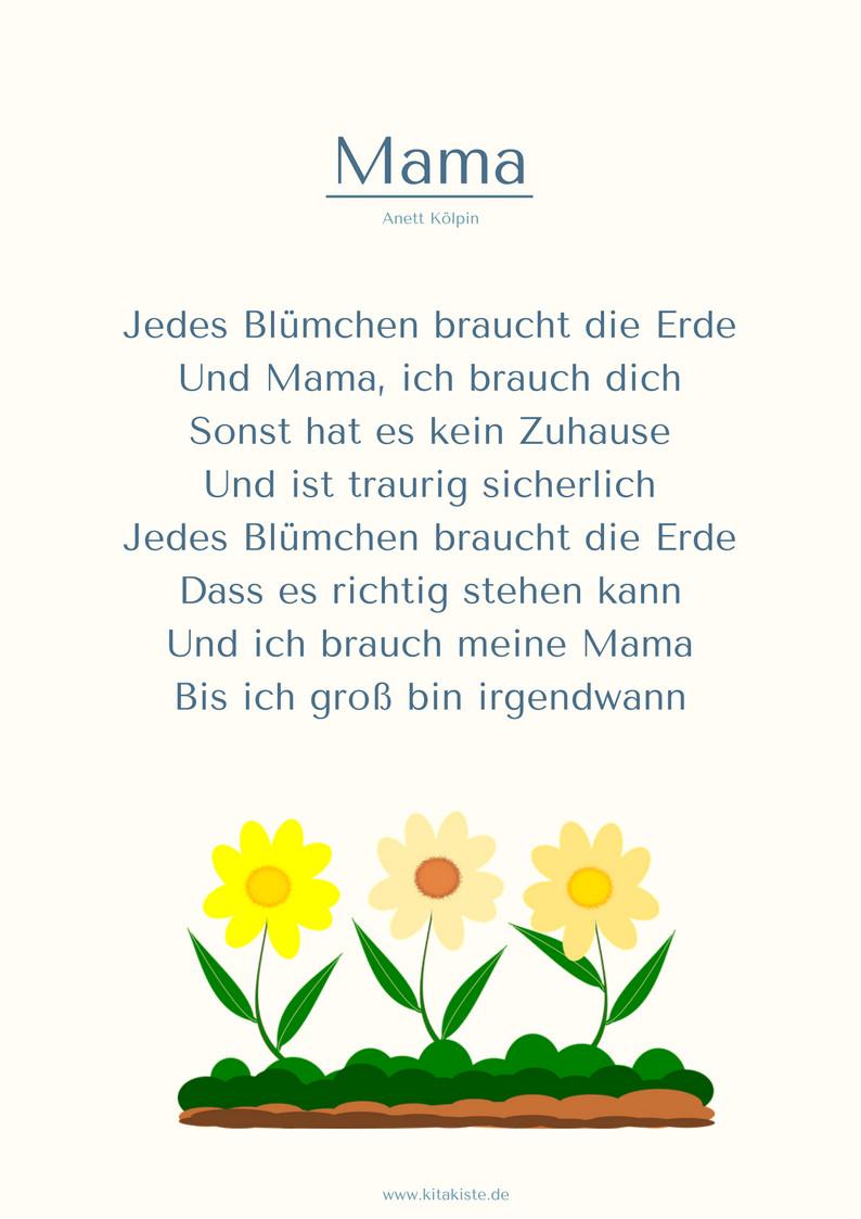 """Geburtstagsgedichte Für Mama  """"Das Kostüm"""" PDF"""