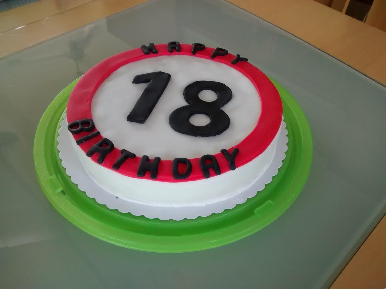 Geburtstagsgeschenk 18  Twink e Baking Torte zum 18 Geburtstag