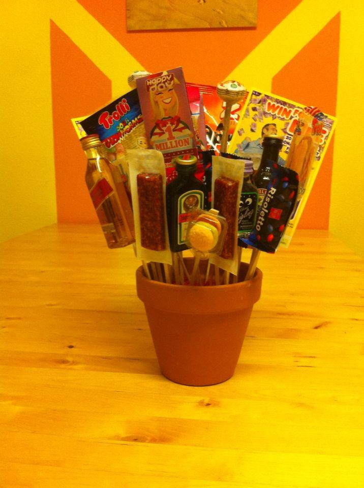 Geburtstagsgeschenk 2 Jährige  Der Blumenstrauss für Männer Geburtstagsgeschenk für