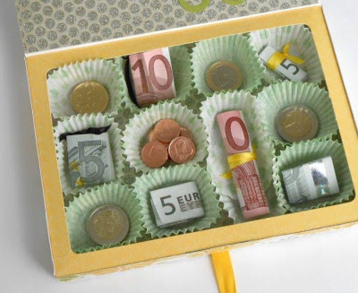 Geburtstagsgeschenk 5 Jahre  Schöne Idee für ein Geldgeschenk mal anders verpackt in