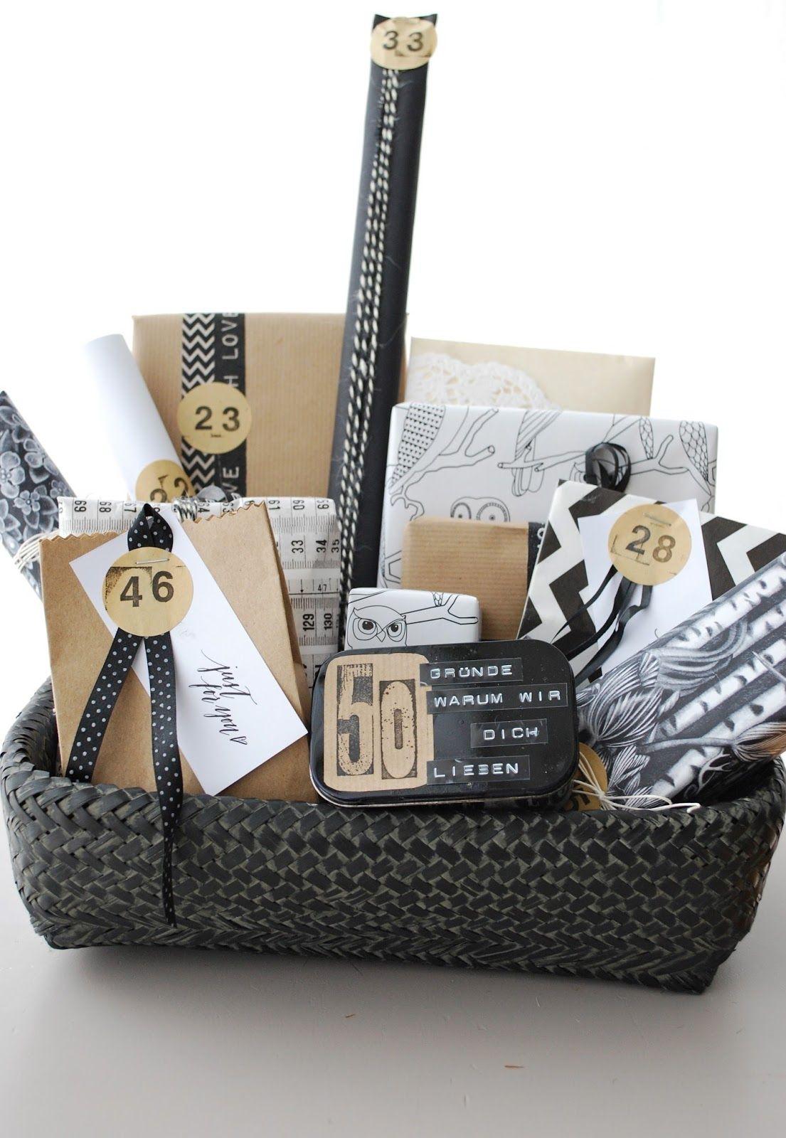 Geburtstagsgeschenk 50  Geburtstagsgeschenk 1 50 Gründe warum wir dich lieben