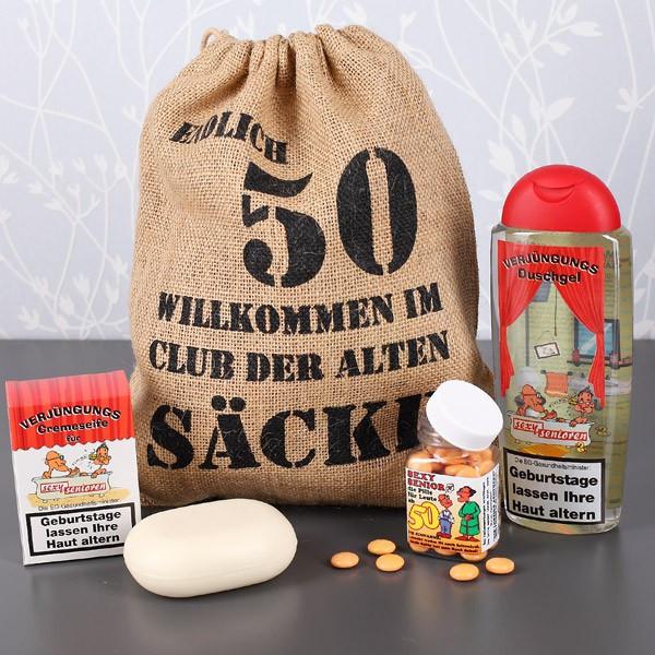 Geburtstagsgeschenk 50  Geschenkset zum 50 Geburtstag