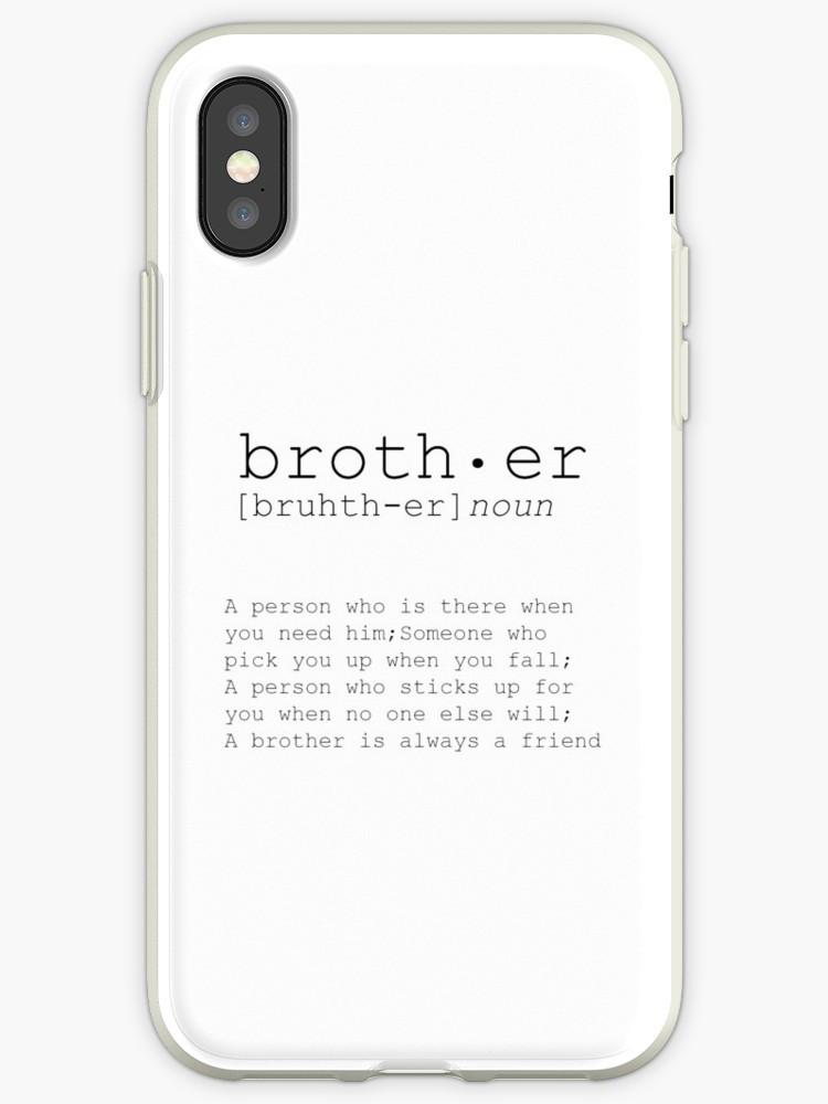 """Geburtstagsgeschenk Für Bruder  """"CHRISMAS GESCHENK für Bruder Bruder großer Bruder Kunst"""