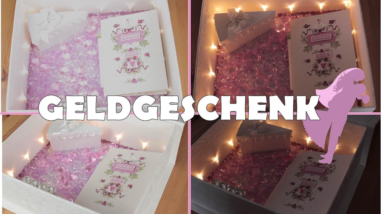 Geburtstagsgeschenk Ideen Freundin  DIY GESCHENK FÜR BESTE FREUNDIN HOCHZEIT