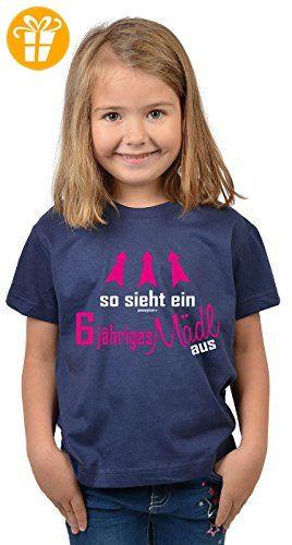 Geburtstagsgeschenk Mädchen 4 Jahre  Mädchen zum 6 Geburtstag 6 Jahre alt T Shirt Geschenk